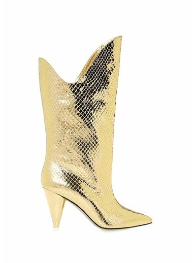 Attico Çizme Altın